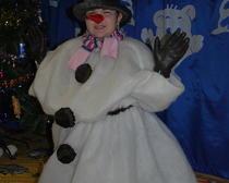 Костюм своими руками: Снеговик
