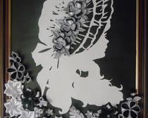 Картина канзаши: Вдохновение