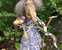 Интерьерная кукла: волшебница Гингема