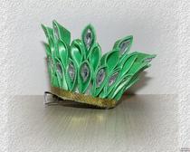 Канзаши из атласных лент: корона своими руками