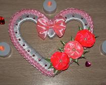 Сердечная валентинка