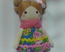 Куколка Ксюша с выкройкой
