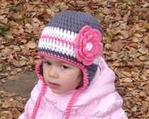 Весенне-осенняя шапочка интересах ребёнка своими руками - выкройки да мастер-класс