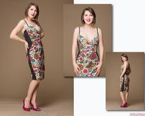 Шьем платье своими руками: коктейлое платье с корсажем в стиле Мэрилин Монро
