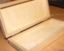 Изготовление деревянной заготовки для шкатулки-купюрницы