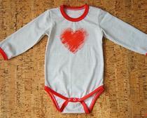 Выкройка и пошив боди для новорожденного малыша