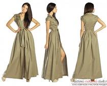 Не сложные выкройки моделей вечерних платьев