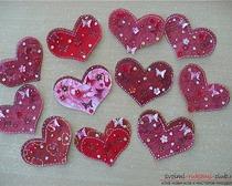 Открытка сердечко, сделанная своими руками