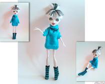 Как сделать одежду для кукол своими руками
