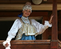 Элемент народного костюма-душегрея