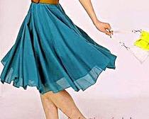 Модная юбка – клеш своими руками