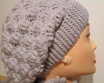 Вязание берета крючком всегда стильно, модно и красиво