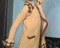 Вязание спицами: осенний кардиган