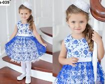 Легкая выкройка и пошив платья для девочки пяти лет