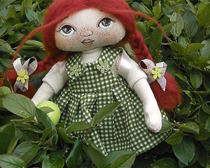 Интерьерная куколка Дуся