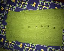 Вязанный жилет