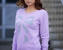 Шикарный вязаный женский свитер