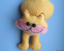 Мастер-классы по шитью игрушек: кот из фетра своими руками