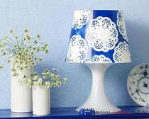 Оригинальные идеи для дома своими руками: абажур для любимой лампы