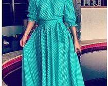 Современные выкройки платья-крестьянки