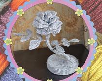 Мастер-класс Вязание крючком розы