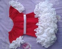 Вязаное платье для лапочки дочки