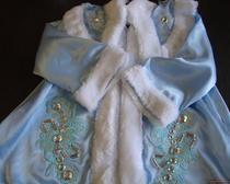 Карнавальный костюм для девочки своими руками: Снегурочка