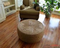 Необычные предметы интерьера: столик из старой шины своими руками