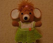 Вязание крючком игрушек. Мышка-Анюта