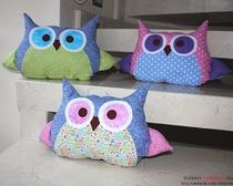 Сова-игрушка или как сшить подушку в виде совы