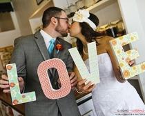 Декоративные буквы на праздники