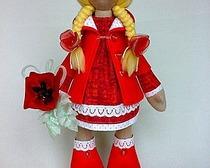 Уникальная куколка Коннэ Снежка