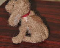 Валяные игрушки из натуральной шерсти.