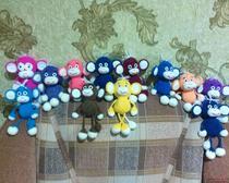 Амигуруми: Весёлые обезьянки