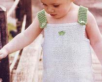 Как связать летний сарафан для девочки 1 года, 2 и 3 лет, с использованием подробного описания, схем и фото