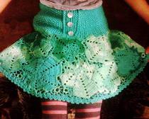 Вязание юбки крючком. Юбка своими руками для девочки