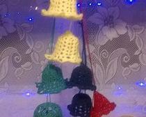 Вязаные колокольчики - украшения для дома своими руками