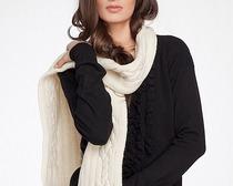 Популярные вязаные шарфы