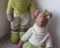 Мишки Тильды: сладкая парочка