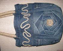 Сумочка из джинсы