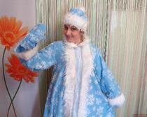 Как пошить костюм Снегурочки своими руками Мастер-класс свыкройкой