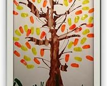 Конспект по рисованию (нетрадиционные способы) в средней группе детского сада на тему «Изображение осеннего дерева»