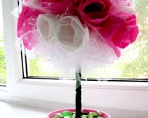 Чудесные цветы из бумаги