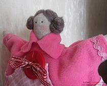 Кукла Тильда-грелка на чайник