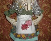 Текстильная кукла Дусенька-ягусенька