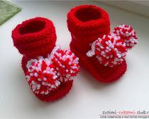 Модные пинетки-кеды для малыша