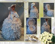 Куколка-шкатулка ручной работы