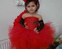 Платье из фатина для 2-летней девочки