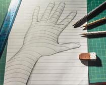 3D-рисование: как нарисовать руку