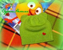 весенняя шапочка или свитер